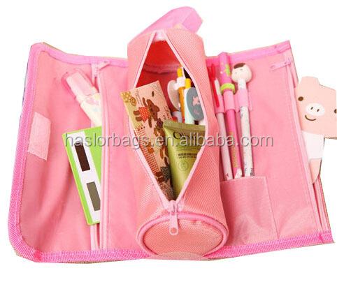 Princesse sac de crayon / Roll Up étui à crayons pour les filles
