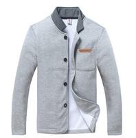 2015 new autumn winter design polo jacket men slim collar coat overcoat spring warm casual outwear wholesale
