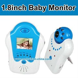 NG-1801,1.8-inch 2.4G Wireless baby monitor,Synchronous transmission of audio and video,night vision