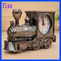 100% Brand New antique locomotive alarm clock desk clock
