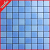 mixed blue floor mosaic pool swimming glass tile square 25x25