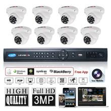 LS VISION dvr network client ge security system camera de seguranca