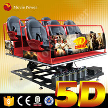 Enjoy thrilling and exciting entertainment 5d cinema manufacturer