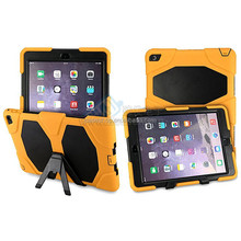 Heavy duty Hybird Shockproof case for ipad air 2 for ipad 6