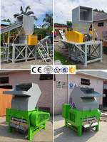 Waste Plastic Film Crusher Machine, PP/PE film Crusher for Recycling Washing Line