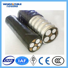 Armored & Sheath Alloy Cable (AC WU90), 0.6/1KV 3 cores, cable manufacturer