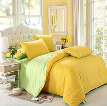 100% cotton 7pcs T600 plain sateen comforter set