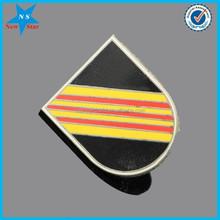 Metal collar insignia lapel pins