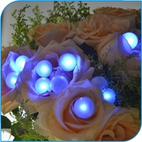 Wedding Decoration Colorful Waterproof 11 Colors Glowing Pearls