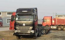 2014 luxurious sinotruk howo a7 6x2 tractor truck EURO II 336hp hot sale