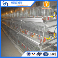 High quality layer chicken cage system / laying hens battery chicken cages