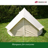 family hiking camping tent100% cotton canvas roof tent