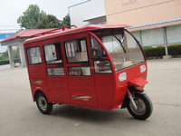closed body type three wheel motorcycle for passenger