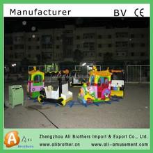 amusement equipment luxury indoor and outdoor Amusement Ride Track Train Sales For Kids