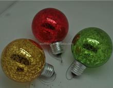 Navidad decorativo cristal colgante de bolas