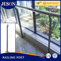 balcony steel stair hand railing