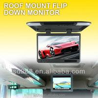 25 inch flip down car monitor