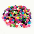 factory supply hot sale acrylic christmas decoration pom poms