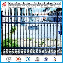 Australian Wrought iron fence/ Aluminum Alloy fence