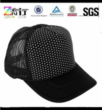 Wholesale mens round neck custom screen printed caps