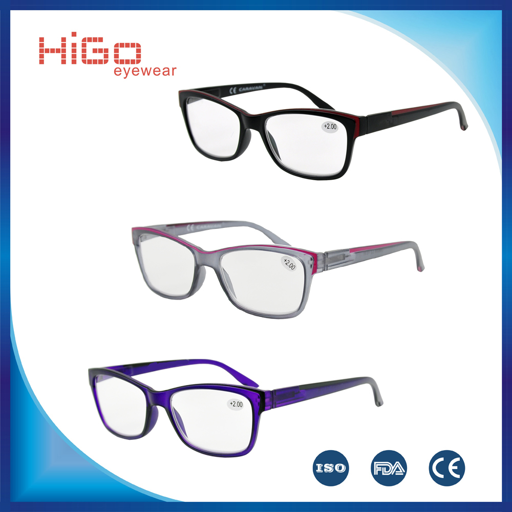 New Trade Reading Glasses Plastic Eyewear Women Frame ...