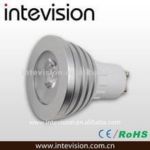 2012 hot sale 3w RGB led spot light with ce&rohs