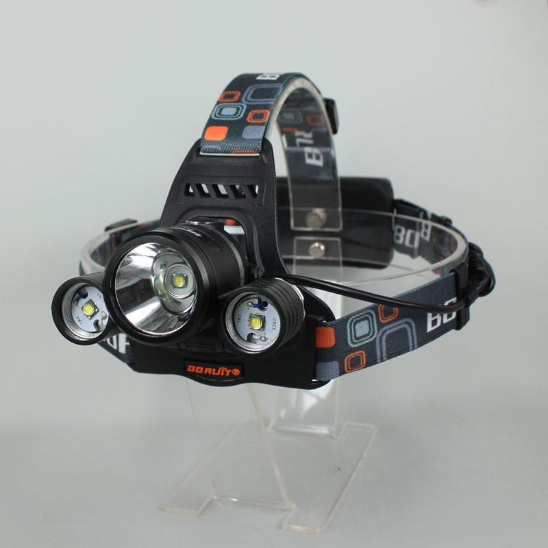 3 x cree xm-l t6 привели 5000lm перезаряжаемые usb фары фара света фары велосипед свет