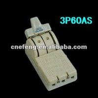Chinese three pole Single Throw Porcelain Knife Switch