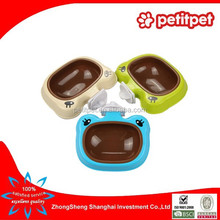 cartoon plastic pet bowl can be suspended