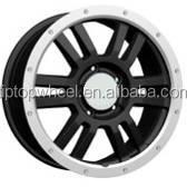 TRD replica auto wheel rims machine face for off road 4x4 Suv car
