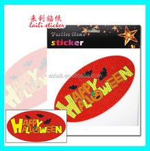 2015 halloween acrylic sticker/holiday decoration acrylic sticker
