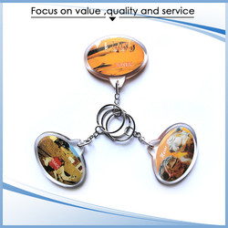 Professional Made Competitive Price Keyring Parts