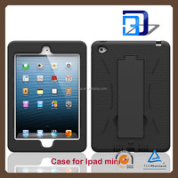 Newest Stylish Heavy Duty Armor Robot Case For iPad mini 4 tablet case lowest price