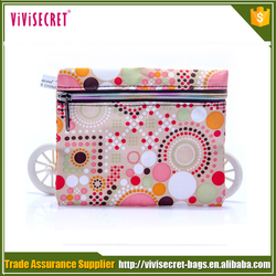 Personalized Style Ladies Zip Coin Purse in High Quality Nylon