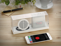 Most popular products mini Bluetooth speaker subwoofer 2015 for cellphone,laptop support USB,TF card, FM radio , MIC hands-free