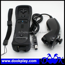 Motion Plus Remote and Nunchuck For Wii Controller Blue