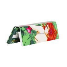 Extra Sticky Mini slim size premium ultra thin fine 100% natural Arabic gum slow burning white rolling paper