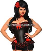plus size sexy lingerie corset for women waist sexy fat women costume