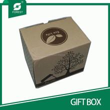 nuovo speciale design scatole regalo ondulato con piccola finestra per il confezionamento