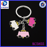 Mini Fashion interesting tree car with color Tool Metal keychains