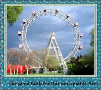 factory direct rides 50m Large amusement park rides Giant playground ferris wheel