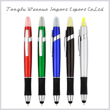 Widely used 2 in 1 highlighter and ballpoint