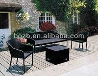 New design Outdoor furniture wicker sofa/Patio sofa set garden furniture