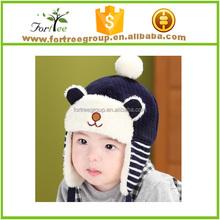 winter baby hat crochet pattern,baby winter hat with earflaps,children hats