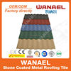 Factory direct sale colorful stone chip coated steel roof tile factory / asphalt shingles