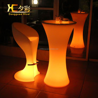 Wholesale High Top Led Cocktail Table For Party Events