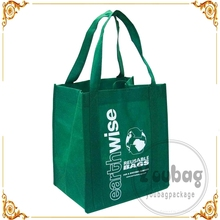 Cheap promotional non-woven conference tote bag with custom printing, Nature non-woven bag