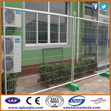 Temporary yard fencing / 6ft temporary fencing panels / removable metal fencing posts