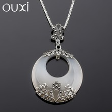 2015 new design good imitation jewellery necklace pendant antique silver