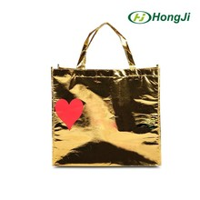 80g Recyclable Go Shopping Screen Printing PP Non Woven Bag